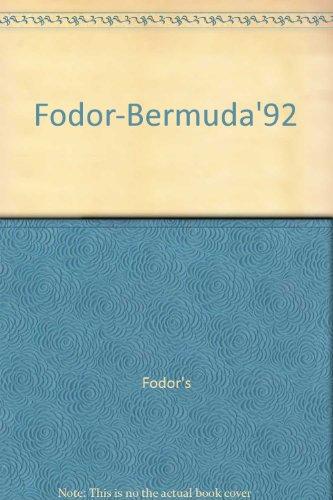 Fodor-Bermuda'92 (0679020187) by Fodor's