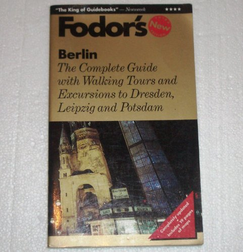 9780679025696: Berlin: The Complete Guide with Walking Tours and Excursions to Dresden, Leipzig and Pot sdam (Gold Guides)
