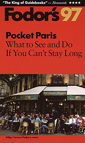 9780679032717: Pocket Paris '97: What to See and Do If You Can't Stay Long (Annual)