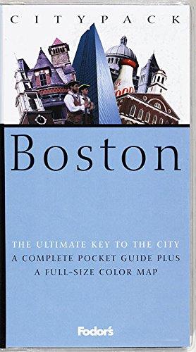 9780679034254: Citypack Boston (1st ed)