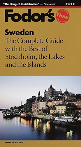 9780679035398: Sweden: The Complete Guide with the Best of Stockholm, the Lakes and the Islands (10th Edition)