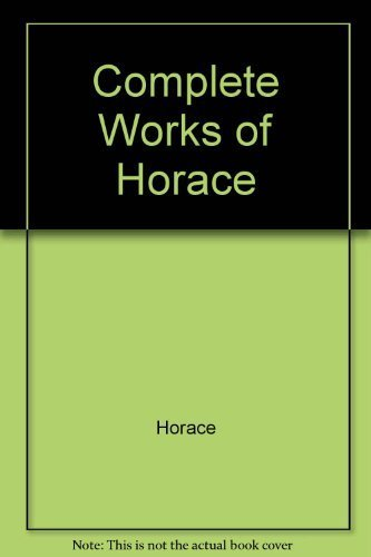 9780679100300: Complete Works of Horace