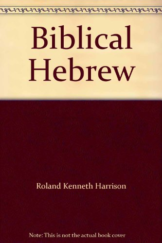 9780679101802: Biblical Hebrew