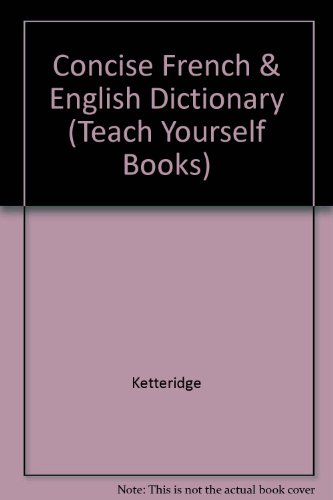 TY FRENCH DICTIONARY (Teach Yourself Books) (9780679102458) by Random House