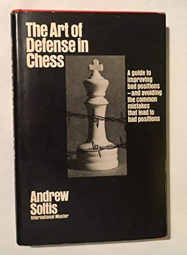9780679130437: The Art of Defense in Chess (McKay Chess Library)