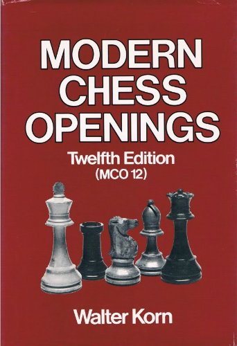 9780679135005: Modern Chess Openings