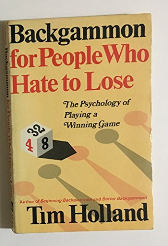 9780679141259: Backgammon for People Who Hate to Lose