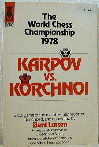 9780679143505: Karpov Vs. Korchnoi: World Chess Championship, 1978