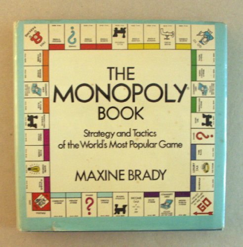 9780679202929: The Monopoly Book: Strategy and Tactics of the World's Most Popular Game by