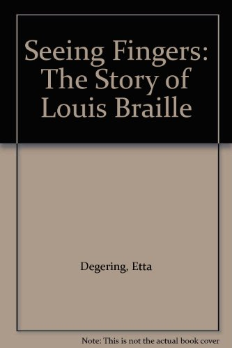 9780679251330: Seeing Fingers: The Story of Louis Braille