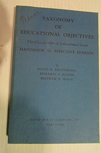 9780679302100: Taxonomy of Educational Objectives
