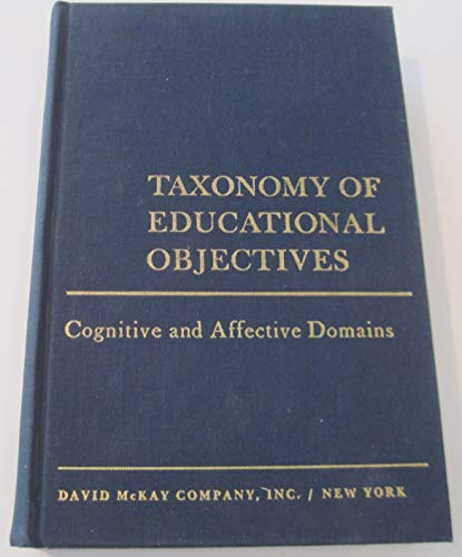 9780679302117: Taxonomy of Educational Objectives: The Classification of Educational Goals.