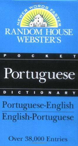 9780679400608: Random House Webster's Pocket Portuguese Dictionary (Best-Selling Random House Webster's Pocket Reference)