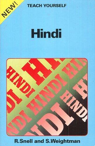 9780679401902: Hindi (Teach Yourself Books)