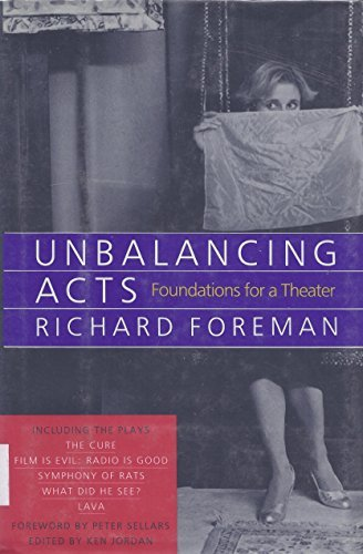 9780679404545: Unbalancing Acts: Foundations for a Theater