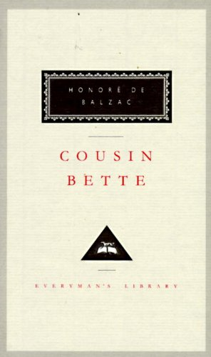 9780679406716: Cousin Bette (Everyman's Library Series)