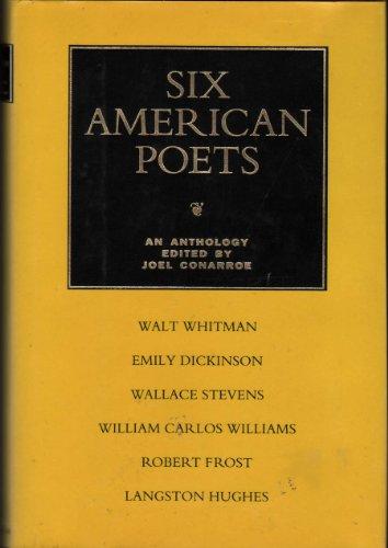 Six American Poets: An Anthology: Conarroe, Joel