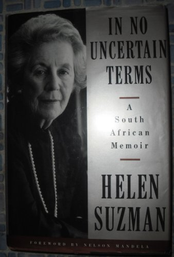9780679409854: In No Uncertain Terms: A South African Memoir