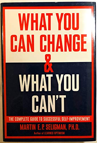 9780679410249: What You Can Change, What You Can'T