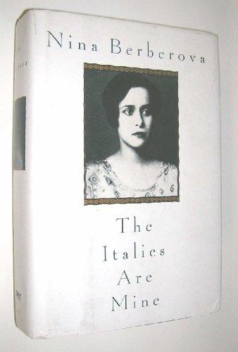 9780679412373: The Italics Are Mine
