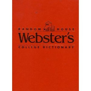 9780679414100: RH WEBSTER'S COLL DICT-THUMB I