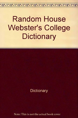 9780679414209: Random House Webster's College Dictionary