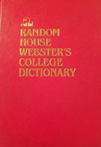 9780679414209: Random House Webster's College