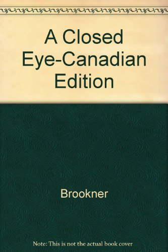 9780679415954: A Closed Eye-Canadian Edition