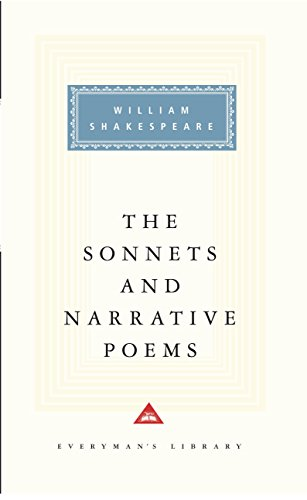 9780679417415: The Sonnets and Narrative Poems (Everyman's Library)