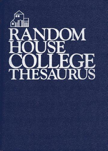 Random House Thesaurus, Revised (067941780X) by Random House