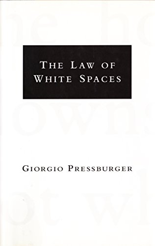 9780679420484: The Law of White Spaces