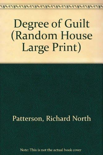 9780679422112: Degree of Guilt (Random House Large Print)