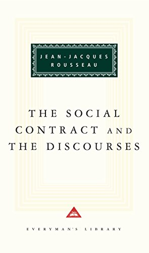 9780679423027: The Social Contract and The Discourses (Everyman's Library)