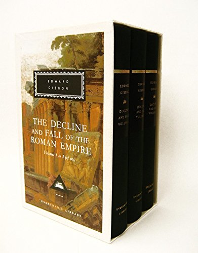 9780679423089: The Decline and Fall of the Roman Empire, Vol. 1-3: Volumes 1, 2, 3 (Everyman's Library Classics & Contemporary Classics)