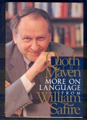 9780679423249: Quoth the Maven