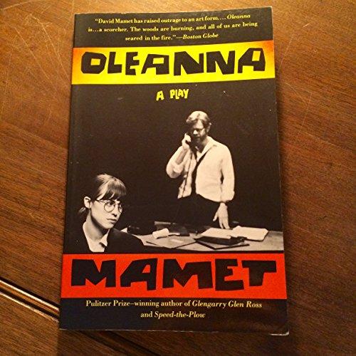 9780679424116: Oleanna: A Play