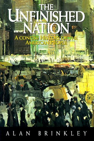 9780679425489: The Unfinished Nation: A Concise History of the American People
