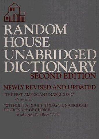 9780679429173: Random House Unabridged Dictionary