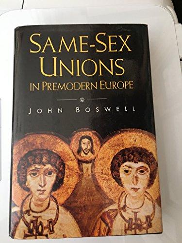 9780679432289: Same-Sex Unions in Premodern Europe