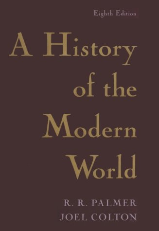 9780679432531: History of the Modern World (History of the Modern World, 8th ed)