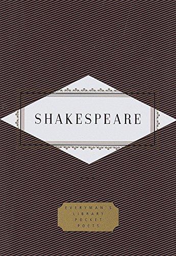 9780679433200: Shakespeare: Poems (Everyman's Library Pocket Poets Series)