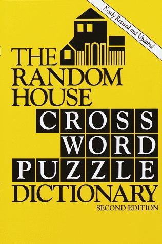 9780679433767: Random House Crossword Puzzle Dictionary, 2 Ed.