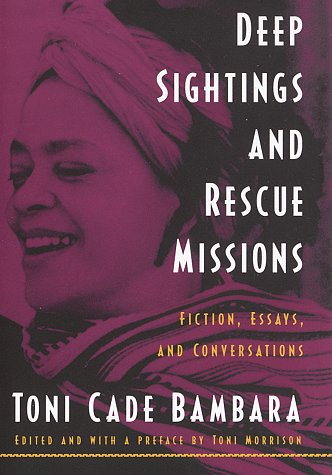 toni cade bambara essay Analysis of toni cade bambara the lesson - free download as word doc (doc), pdf file (pdf), text file (txt) or read online for free.