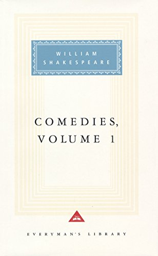 9780679443636: 001: Comedies, vol. 1: Volume 1 (Everyman's Library)