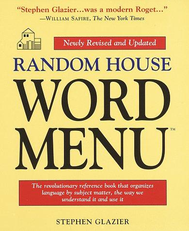 9780679449638: Random House Word Menu: Revised and Updated