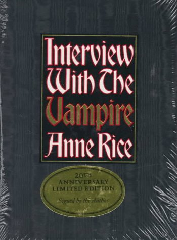 Interview with the Vampire / 20th Anniversary Edition / Signed / Still in Original ...