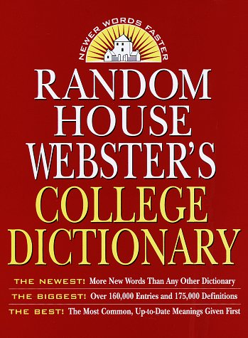 9780679455707: Random House Webster's College Dictionary, 2nd Edition