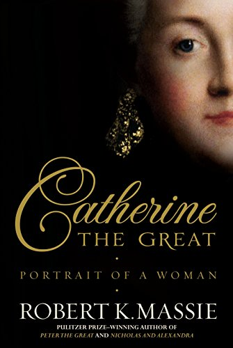 CATHERINE THE GREAT. portrait of a woman.