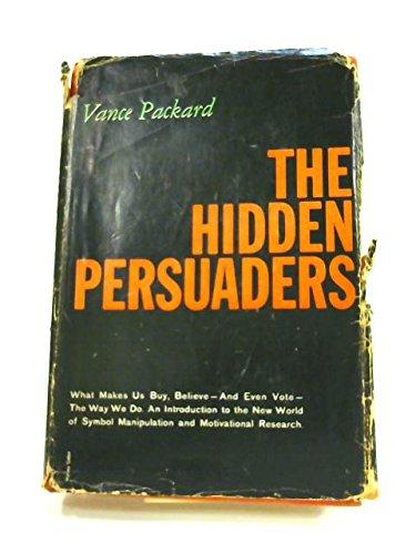 9780679500308: The Hidden Persuaders