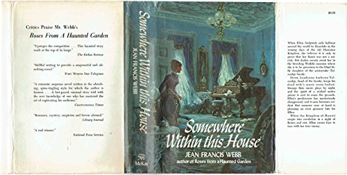 Somewhere Within This House. (0679503935) by Webb, Jean Francis.